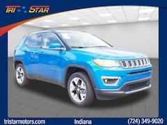 New cars, trucks, and SUVs 2018 Jeep Compass Limited 4x4 SUV for sale near you in Indiana, PA