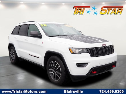 Featured pre-owned cars, trucks, and SUVs 2020 Jeep Grand Cherokee Trailhawk SUV for sale near you in Blairsville, PA