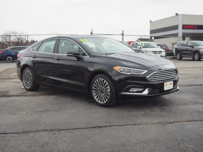 Used 2018 Ford Fusion Sedan for sale in Blairsville, PA at Tri-Star Chrysler Motors