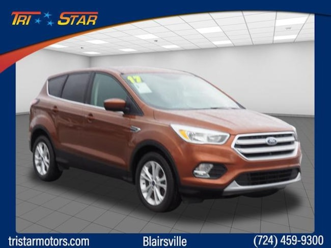 Used 2017 Ford Escape SE SUV for sale in Blairsville, PA at Tri-Star Chrysler Motors
