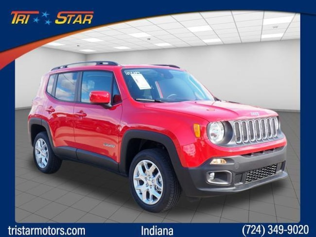 New 2018 Jeep Renegade LATITUDE 4X4 Sport Utility for sale in Blairsville, PA at Tri-Star Chrysler Motors