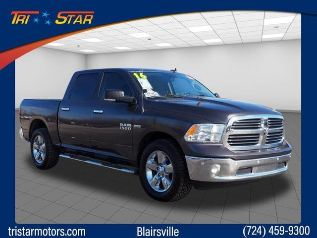 Featured pre-owned cars, trucks, and SUVs 2016 Ram 1500 SLT Truck Crew Cab for sale near you in Blairsville, PA