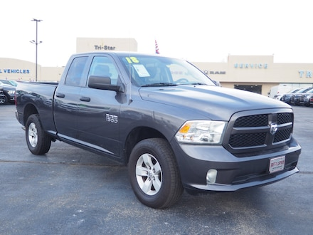 Featured pre-owned cars, trucks, and SUVs 2018 Ram 1500 Tradesman Truck Quad Cab for sale near you in Blairsville, PA