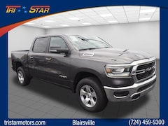 New 2019 Ram 1500 BIG HORN / LONE STAR CREW CAB 4X4 5'7 BOX Crew Cab for sale in Blairsville, PA at Tri-Star Chrysler Motors