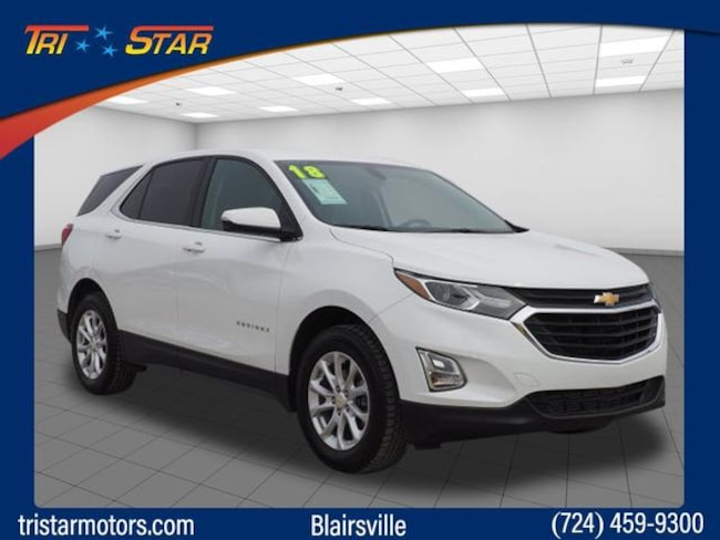 Used 2018 Chevrolet Equinox LT w/1LT SUV for sale in Blairsville, PA at Tri-Star Chrysler Motors