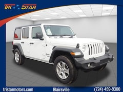 New 2018 Jeep Wrangler UNLIMITED SPORT S 4X4 Sport Utility for sale in Blairsville, PA at Tri-Star Chrysler Motors