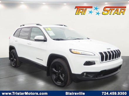 Featured pre-owned cars, trucks, and SUVs 2018 Jeep Cherokee Limited 4x4 SUV for sale near you in Blairsville, PA