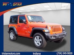 New 2018 Jeep Wrangler SPORT S 4X4 Sport Utility for sale in Blairsville, PA at Tri-Star Chrysler Motors