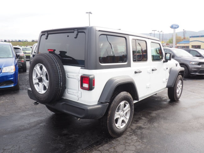 New 2018 Jeep Wrangler UNLIMITED SPORT S 4X4 For Sale in ...