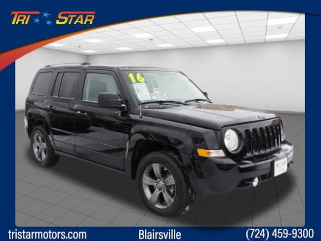 Certified Pre-Owned 2016 Jeep Patriot Sport 4x4 SUV for sale in Blairsville, PA at Tri-Star Chrysler Motors