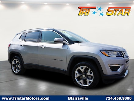 Featured pre-owned cars, trucks, and SUVs 2019 Jeep Compass Limited 4x4 SUV for sale near you in Blairsville, PA