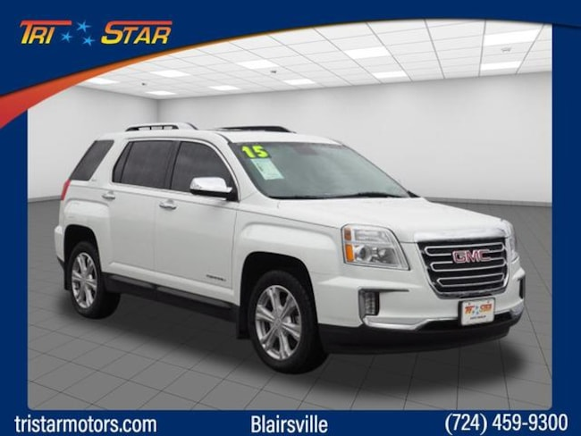 Used 2016 GMC Terrain SLT SUV for sale in Blairsville, PA at Tri-Star Chrysler Motors