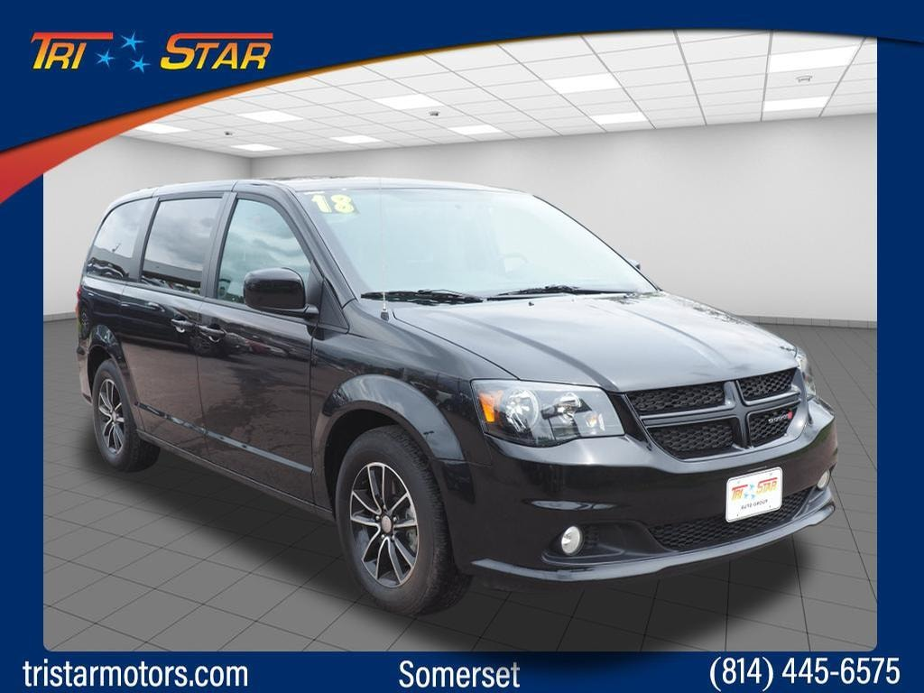Featured pre-owned vehicles 2018 Dodge Grand Caravan SE Van Passenger Van for sale near you in Somerset, PA