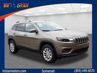 New cars, trucks, and SUVs 2019 Jeep Cherokee LATITUDE 4X4 Sport Utility for sale near you in Somerset, PA