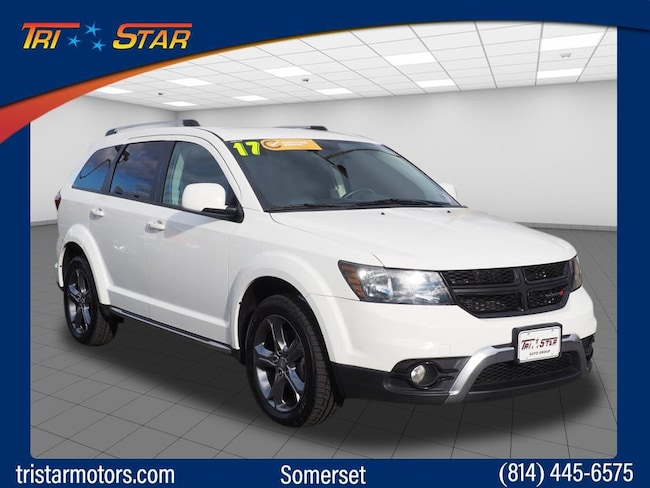 Used 2017 Dodge Journey Crossroad SUV in Somerset, PA