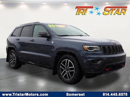 Featured pre-owned vehicles 2020 Jeep Grand Cherokee Trailhawk SUV for sale near you in Somerset, PA