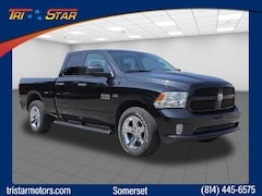 Certified pre-owned cars, trucks, and SUVs 2017 Ram 1500 Tradesman/Express Truck Quad Cab for sale near you in Somerset, PA
