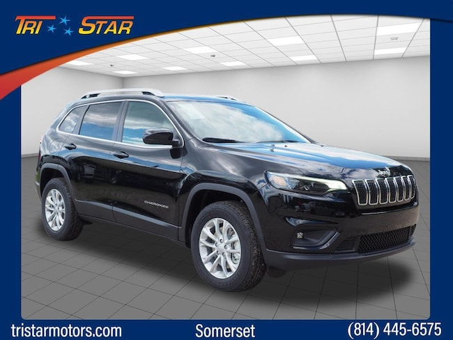 New 2019 Jeep Cherokee LATITUDE 4X4 Sport Utility in Somerset, PA