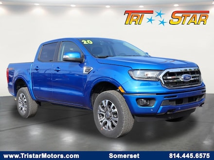 Featured pre-owned vehicles 2020 Ford Ranger Truck SuperCrew for sale near you in Somerset, PA