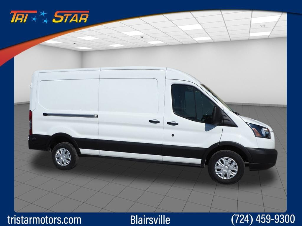 2019 Ford Transit-250 250 LWB Medium Roof Cargo Van w/Sliding Passenger