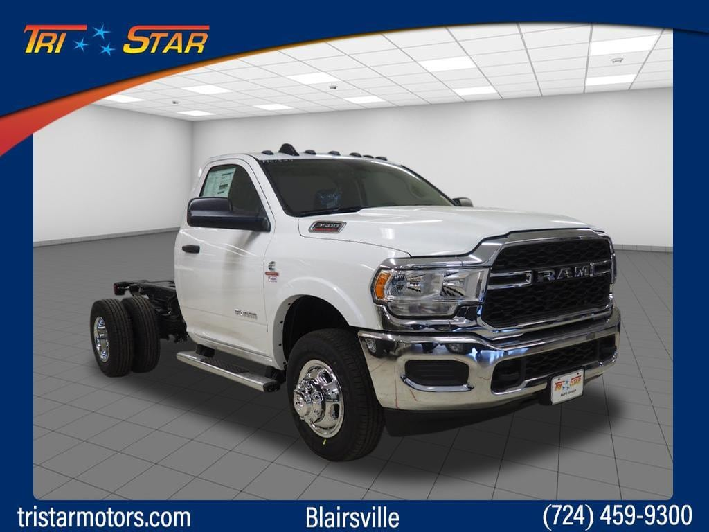 2019 Ram 3500 Chassis 4x2 Tradesman Regular Cab 143.5 in. WB DRW Chassi