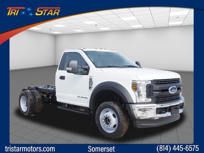 New 2019 Ford F-550 Chassis F-550 XL Commercial-truck for sale or lease in Somerset, PA