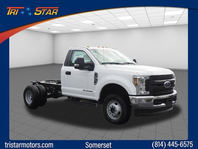 New 2019 Ford F-350 Chassis F-350 XL Truck Regular Cab for sale or lease in Somerset, PA