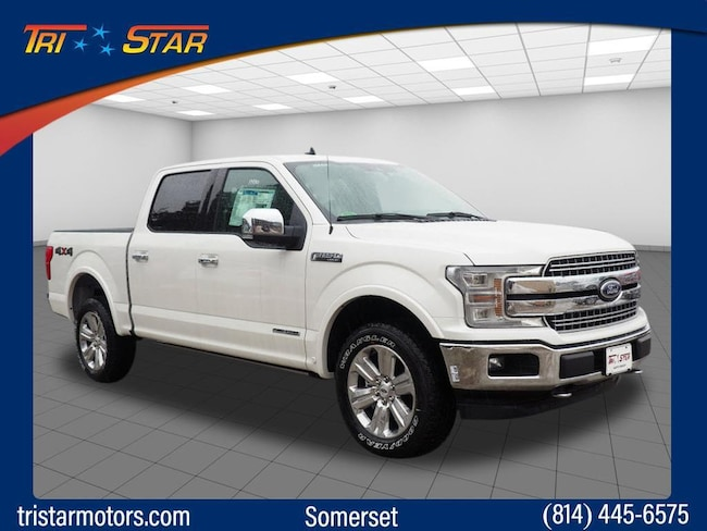 New 2019 Ford F-150 Lariat Truck for sale or lease in Somerset, PA