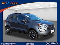 New Ford cars, trucks, and SUVs 2018 Ford EcoSport SES Crossover for sale near you in Somerset, PA