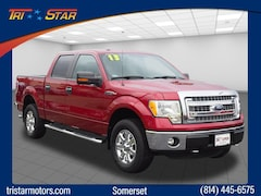 Used 2013 Ford F-150 XLT Crew Cab Short Bed Truck for sale in Somerset, PA