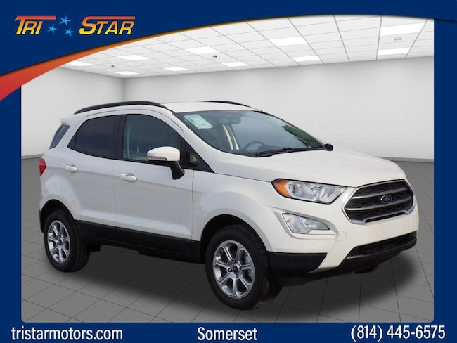 New 2018 Ford EcoSport SE Crossover for sale or lease in Somerset, PA
