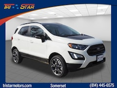 New 2019 Ford EcoSport SES Crossover for sale or lease in somerset, PA