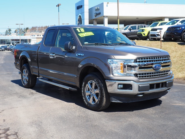 Used 2018 Ford F-150 XLT Extended Cab Short Bed Truck for sale in Somerset, PA