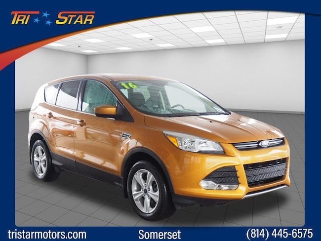 Used 2016 Ford Escape SE SUV for sale in Somerset, PA