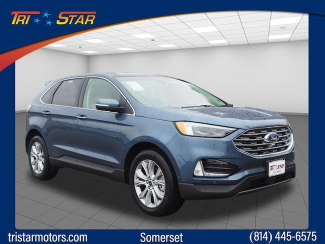New 2019 Ford Edge Titanium Crossover for sale or lease in Somerset, PA