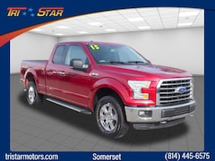 Used 2015 Ford F-150 XLT Extended Cab Short Bed Truck for sale in Somerset, PA