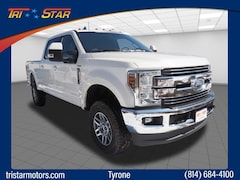New commercial pickup trucks and cargo vans 2019 Ford F-250 Lariat Truck Crew Cab for sale near you in Tyrone, PA
