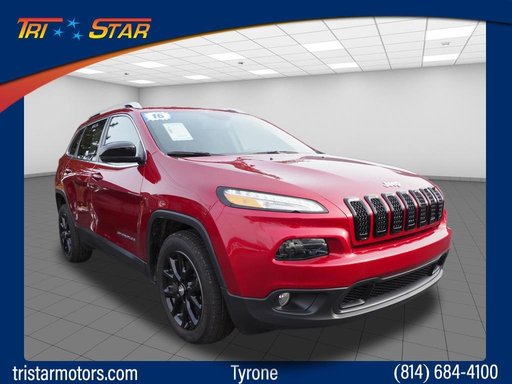 Featured pre-owned cars, trucks, and SUVs 2016 Jeep Cherokee Latitude Latitude  SUV for sale near you in Tyrone, PA