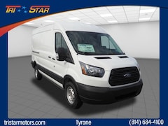 New Ford cars, trucks, and SUVs 2019 Ford Transit-250 Base w/Sliding Pass-Side Cargo Door Van Medium Roof Cargo Van for sale near you in Tyrone, PA