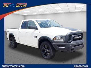 New cars, trucks, and SUVs 2019 Ram 1500 CLASSIC WARLOCK QUAD CAB 4X4 6'4 BOX Quad Cab for sale near you in Uniontown, PA