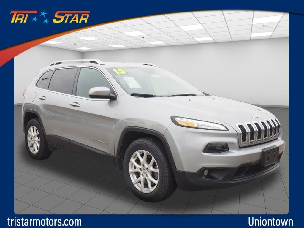 Featured pre-owned cars, trucks, and SUVs 2015 Jeep Cherokee Latitude 4x4 SUV for sale near you in Uniontown, PA