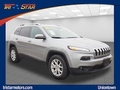 Certified pre-owned vehicles 2015 Jeep Cherokee Latitude 4x4 SUV for sale near you in Uniontown, PA