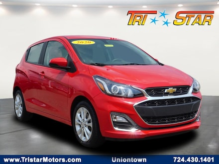 Featured pre-owned cars, trucks, and SUVs 2020 Chevrolet Spark LT w/1LT CVT Hatchback for sale near you in Uniontown, PA