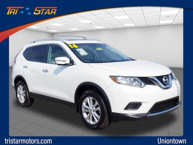 Used 2016 Nissan Rogue SV SUV in Uniontown