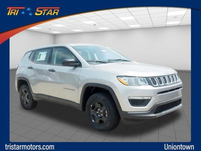 New 2019 Jeep Compass SPORT 4X4 Sport Utility in Uniontown