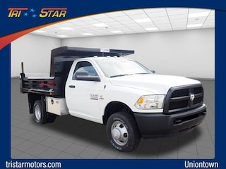 Commercial work trucks and vans 2018 Ram 3500 TRADESMAN CHASSIS REGULAR CAB 4X4 143.5 WB Regular Cab for sale near you in Uniontown, PA