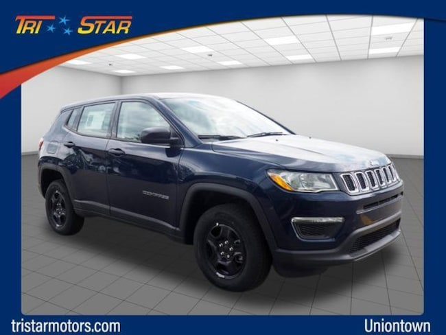 New 2019 Jeep Compass SPORT 4X4 For Sale in Uniontown, PA | VIN#  3C4NJDAB5KT697617