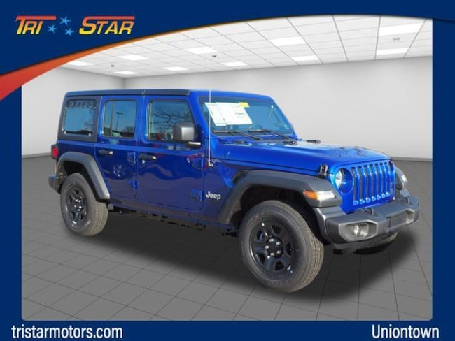 Jeep Wrangler For Sale In Pa >> New 2018 Jeep Wrangler Unlimited Sport 4x4 For Sale In