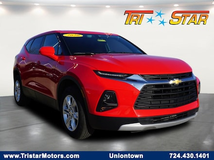 Featured pre-owned cars, trucks, and SUVs 2020 Chevrolet Blazer LT w/2LT SUV for sale near you in Uniontown, PA
