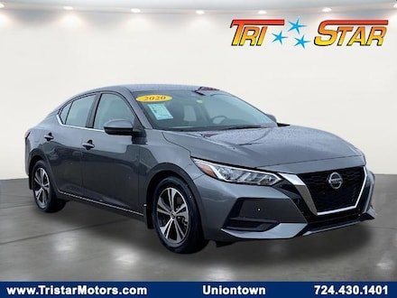Featured pre-owned cars, trucks, and SUVs 2020 Nissan Sentra SV Sedan for sale near you in Uniontown, PA